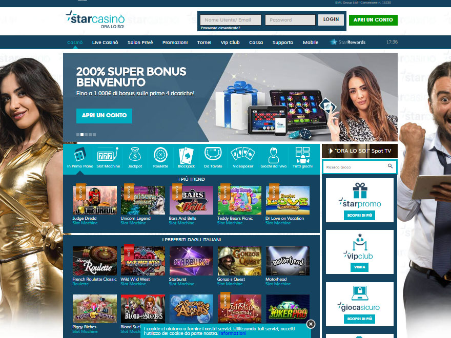 starcasino home page