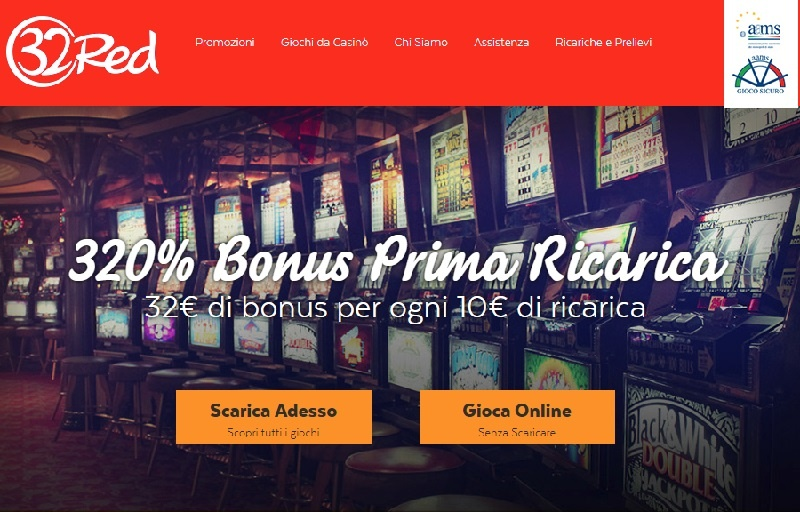 32red casino bonus slot