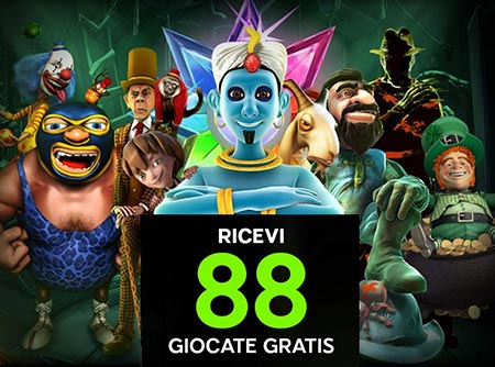 Scopri le Slot Machine Online di 888Casino